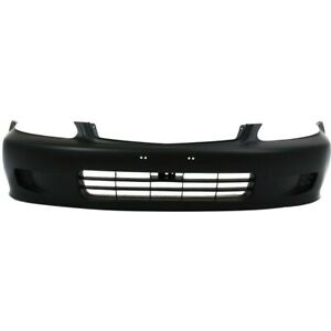 04711s01a01zz Ho1000184 Bumper Cover Front Coupe Sedan For Honda Civic 1999 2000