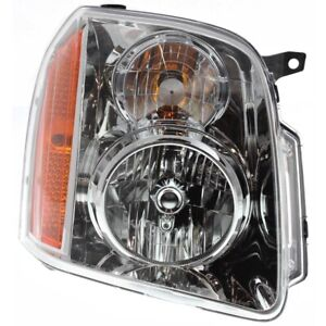 Headlight For 2007 2014 Gmc Yukon Xl 1500 Passenger Side