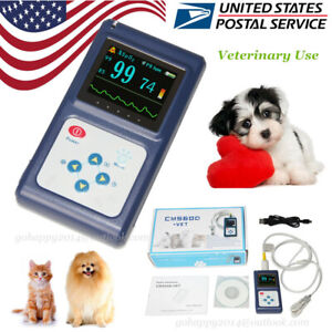 Usa Veterinary Pulse Oximeter Handheld Spo2 Pr Monitor Vet Tongue Probe software