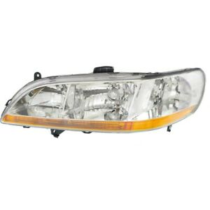 33151s84a01 Ho2502111 Headlight Lamp Left Hand Side Driver Lh For Honda Accord