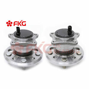 Pair Rear Wheel Hub Bearing For 2002 2011 Toyota Camry Avalon 512206 512207