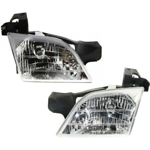 Headlight Lamp Left and right For Chevy Olds Gm2503175 Gm2502175 Lh