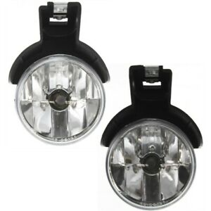 Fog Lights Lamps Set Of 2 Front Left and right Ch2593104 Ch2592104 Lh