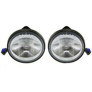 Bn5v51680 Ma2592103 Fog Lights Lamps Set Of 2 Front Left And Right Lh Rh Pair