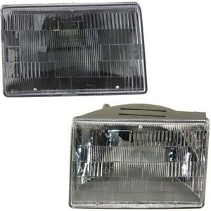 Headlight Lamp Left And Right Ch2503104 Ch2502104 Lh Rh For Grand Cherokee