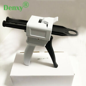 Denxy 1pc Dental Impression Disperser Gun Mixing Dispensing Gun Dental Composite