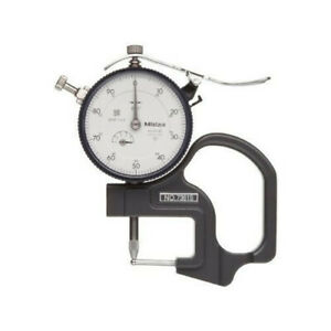 Round Dial Thickness Gauge Inspection External Caliper Dial Indicator
