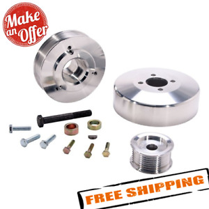 Bbk 15550 Underdrive Pulleys For 1997 2004 Ford F Series 4 6l 5 4l