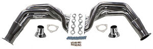 55 57 Chevy Fenderwell Headers bbc 396 502 polished Stainless Steel street Rod