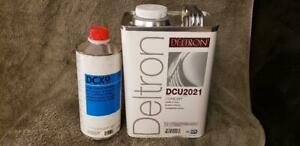 Ppg Dcu2021 Concept Clear With Dcx 9 Hardener Hot Temp Or Force Dry