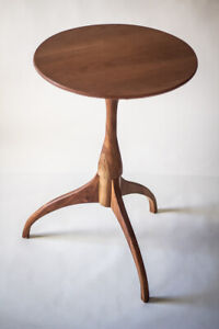 Shaker Candle Stand End Table Free Shipping