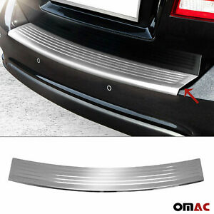 Fits Dodge Journey 2011 2021 Chrome Rear Bumper Guard Trunk Sill Cover S steel