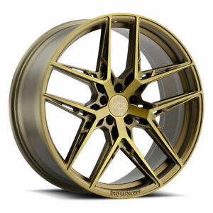 19 Xo Cairo Bronze 19x8 5 19x9 5 Forged Concave Wheels Rims Fits Mazda Rx 8