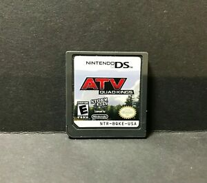 ATV: Quad Kings (Nintendo DS  2010) Game Only # 081