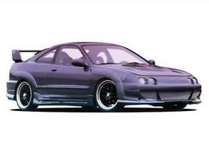Big Mouth Kit W 7pc Extreme Flares For 1994 1997 Acura Integra 2dr 890741