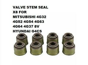 For Mitsubishi Md000508 Md197467 Valve Stem Seal X 8 4g32 52 54 63 4g64 Rr352