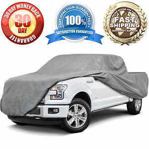 Universal Weatherproof Storage Cover For Crew Cab Long Bed Dually Pickup Trucks