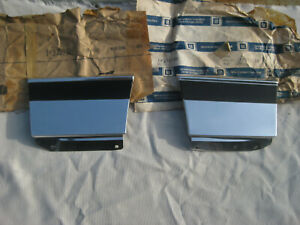Nos Chevy Caprice 1977 1978 1979 Fender Trim Molding Set Front Of Wheel Well