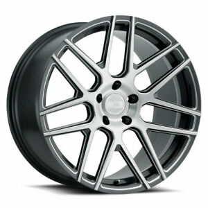 19 Xo Moscow Gunmetal 19x8 5 19x9 5 Forged Concave Wheels Rims Fits Mazda Rx 8