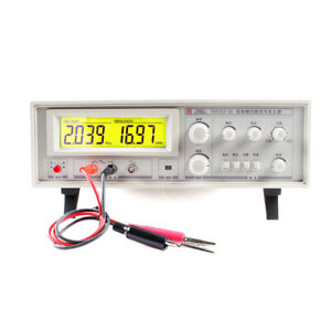 Audio Sweep Signal Generator Speaker Tester Frequency Meter Th1312 20 Ac198 242v