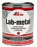 Ready to use Aluminum filled Epoxy Adhesive Repair Patching Lab Metal 24oz