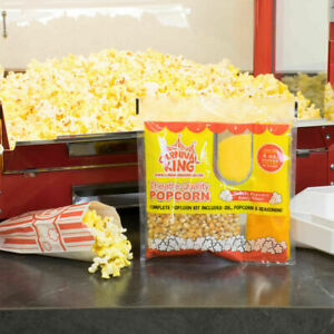 24 pack All in one Large Butterfly Butter Popcorn Kit For 4 Oz Poppers