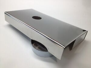 Fits Corvette C5 1997 2004 Stainless Fuse Box Cover Ls1 Engine Chrome Polished
