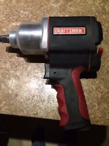 Brand New Craftsman 1 2 Impact Wrench Pneumatic Air Gun 16882
