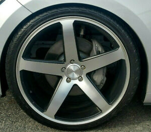 22 Cw5 Concavo Wheels And Michelin Pilot Tires Mustang Camaro Challenger