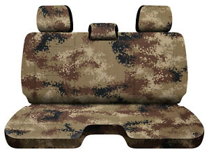 Designcovers Digital Camo Tan Fits 05 15toyota Tacoma Front Bench W 3headrests