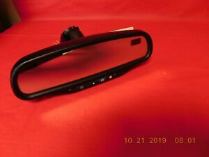 Chevy Rear View Mirror With Auto Dim compass on Star Temp Oem