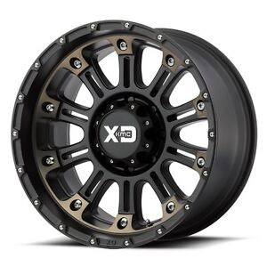 1 20 Inch Black Wheel Rims Xd Series Xd829 Xd82920450976n Hoss 2 5x5 Lug 20x14