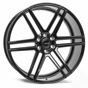 22 Velgen Vft6 Gloss Black 22x10 Forged Concave Wheels Rims Fit Ford Expedition