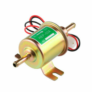 Gas Diesel Electric Fuel Pump Inline Low Pressure Fit For Hep02a Hep 02a Hep 02a