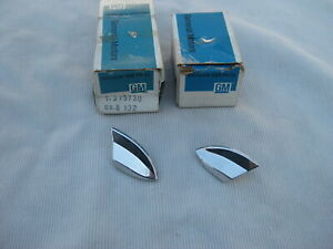 Nos Chevy Caprice Impala 1977 1978 1979 Rear Upper Fender Tip Trim Molding Set