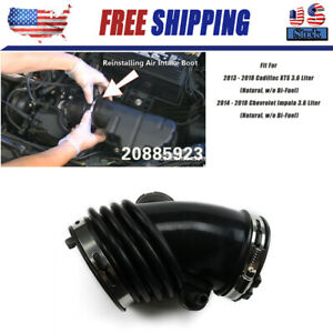 Air Cleaner Intake Hose Boot Tube Duct For Cadillac Xts Chevrolet Impala 2013 18