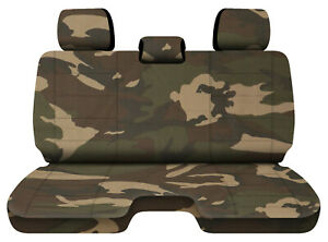 Designcovers Urban Camo 31 Fits 05 15toyota Tacoma Front Bench W 3headrests