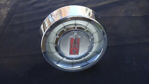 Vintage Pontiac Acadian Steering Wheel Horn Button Sport Deluxe Invader Canso Vn