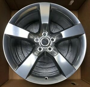 2010 2011 2012 Chevrolet Camaro Rear 20 Wheel Aluminum Rim Oem 92230896 Z184