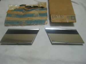 Nos Chevy Caprice 1977 1978 1979 Gm Fender Trim Molding Set Rear Of Wheel Well