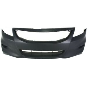 Bumper Cover Front Coupe For Honda Accord 2011 2012 Ho1000277 04711te0a80zz