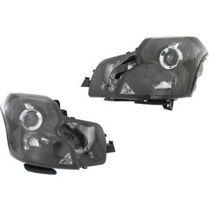Hid Headlight Lamp Left And Right Hid Xenon Gm2503315 Gm2502315 Lh Rh For Cts