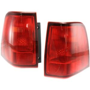 Tail Lights Lamps Set Of 2 Left And Right Outside Fo2804102 Fo2805102 Pair