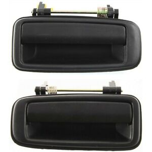 Set Of 2 Exterior Door Handles Rear Left And Right To1520104 Lh