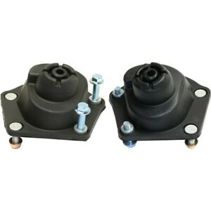 Pair Shock And Strut Mounts Set Of 2 Front Left and right For Chevy Lh