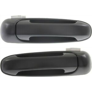 Exterior Door Handle For 2002 2008 Dodge Ram 1500 Rear Left And Right Set Of 2