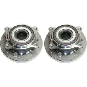 Wheel Hubs Set Of 2 Front Left and right Lh Rh For Mini Cooper 2007 2015 Pair