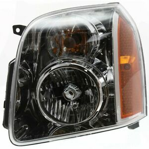Headlight For 2007 2014 Gmc Yukon Xl 1500 Driver Side Capa