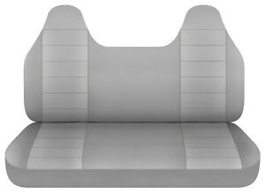 Gray Bench Seat Cover W Molded Hr Fits Toyota Tacoma Chevy S10 Ford Ranger