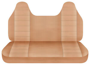 Taupe Bench Seat Cover W Molded Hr Fits Toyota Tacoma Chevy S10 Ford Ranger